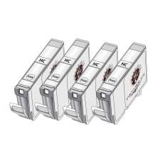 4-Pack Inkedibles Cleaning Cartridges for Epson T220XL (1 each color)