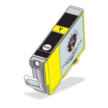 Inkedibles Edible Ink Refillable Cartridge for Epson T200XL420 (Yellow)