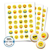 Custom Printed Cookie Toppers & Cupcake Toppers - 35 circles, 1.25 inch