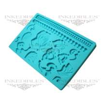 Silicone Chocolate and Fondant Mold (design 535-002)