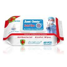 Antibacterial Wipes / Disinfectant Wipes - Pack of 60