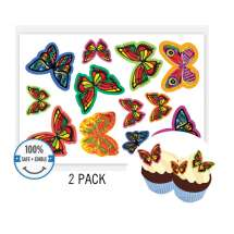 Edible Wafer Butterflies (Pack of 24)